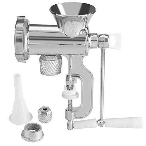 Zerone Manual Multifunction Meat Grinder Chopper Mincer Sausage Maker Home Kitchen Tool