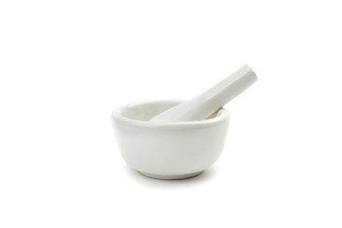 Fox Run 6240 Porcelain Mortar Pestle White