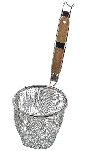 Update International NSSM-6 5-12 Medium Mesh Stainless Steel Noodle Strainer