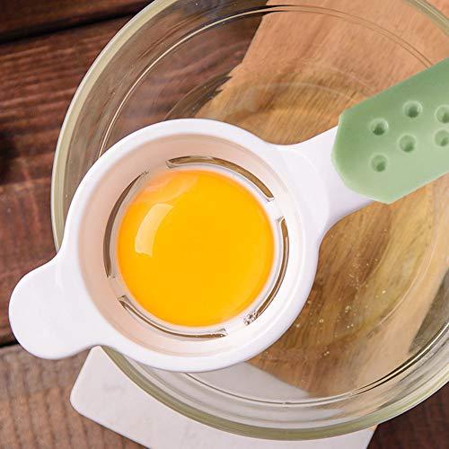 Egg Separator Egg Yolk White Separator Quick and Easily White Yolk Filter Cooking Tool Easy Egg Filter