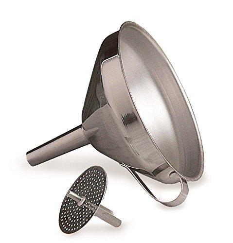 RSVP Endurance Stainless Steel Multi-use Kitchen Funnel 4-inch diameter