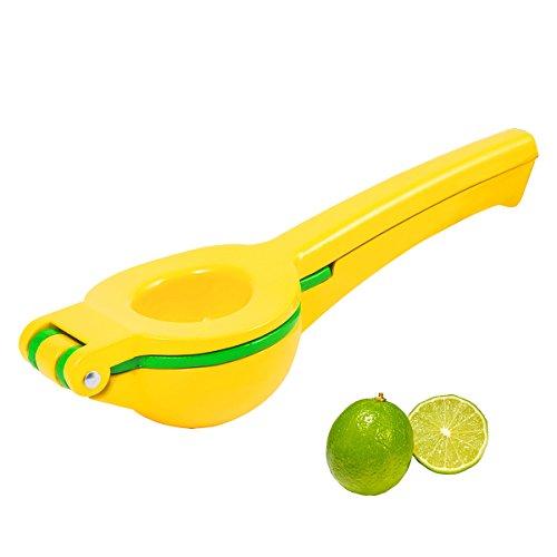Kolomb Lemon Lime Squeezer Manual Citrus Press Juicer - Top Rated Premium Quality Metal Hand Juicer