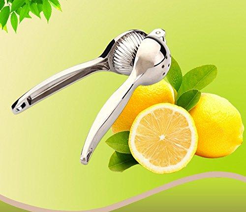 Surborder Shop Lemon Squeezer Stainless Steel Lemon Juicer Sturdy Lime Squeezer Anti-corrosive Manual Lime Juiceron Juicer Surborder Shop