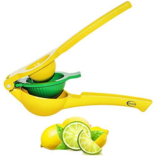 Tejas Lemon Lime Squeezer Premium Quality Metal Citrus Manual Press Juicer Squeeze for Lemon and Lime Dishwasher Safe