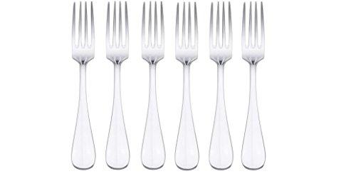 Oneida Bague Salad  Dessert Forks Set of 6