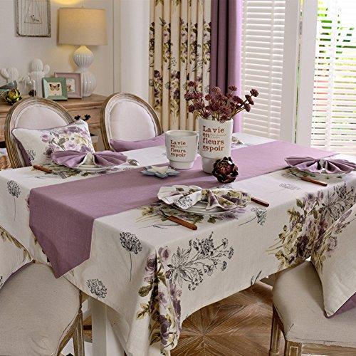 American pastoral fabrictablecloth Washable table cloth table clothtablecloth Bedside table clothtablecloth -B 60x60cm24x24inch