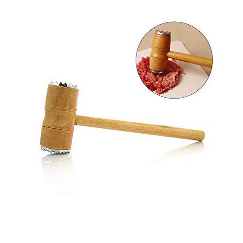 Twinlight Hammer Meat Tenderizer Hammer Pounder Double Sided Mallet Tool for Pounding and Tenderizing Steak Beef Pork Chicken