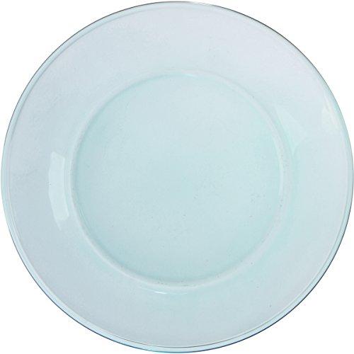 Libbey Glass Salad Plate 75 - Inch Set of 6 Aqua Green