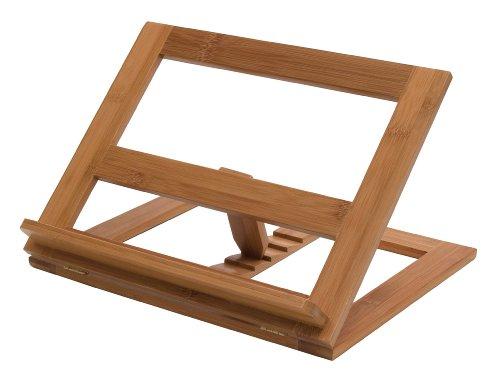 Lipper International 8825 Bamboo Cookbook Holder 13-14 x 11-12 x 8-12