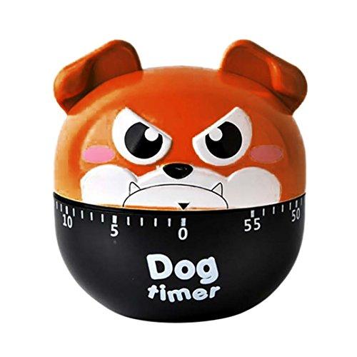 Kitchen Timer Sacow Cute Dog Timer Kitchen Cooking Alarm Clock Timer Gadget Tool A
