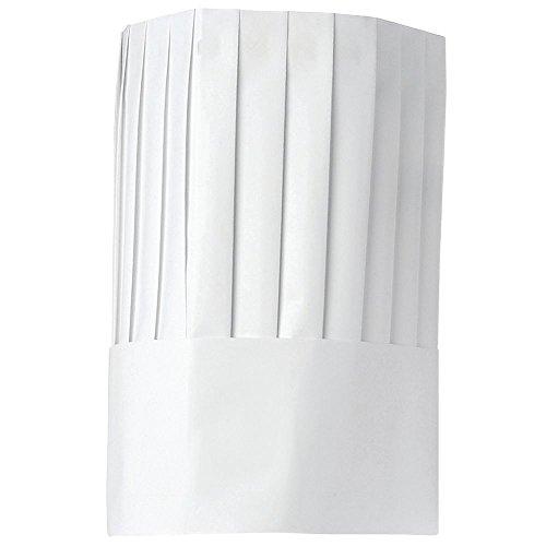 Cellucap White Paper Disposable Chef Hat - 12H