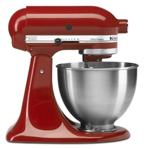 KitchenAid 4-12-Quart Ultra Power Stand Mixer Empire Red