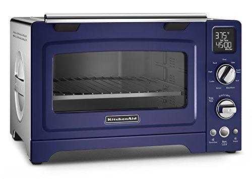 KitchenAid KCO275BU Convection 1800-watt Digital Countertop Oven 12-Inch Cobalt Blue