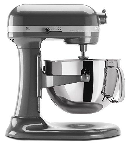 KitchenAid KP26M1XPM 6 Qt Professional 600 Series Bowl-Lift Stand Mixer - Pearl Metallic