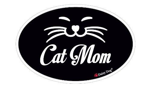 Cat Mom - CarAuto Cat Magnet - Cat Refrigerator Magnet - 6x 4