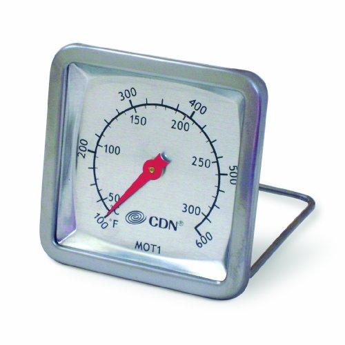 CDN MOT1 Multi-Mount Stainless Steel Oven Thermometer