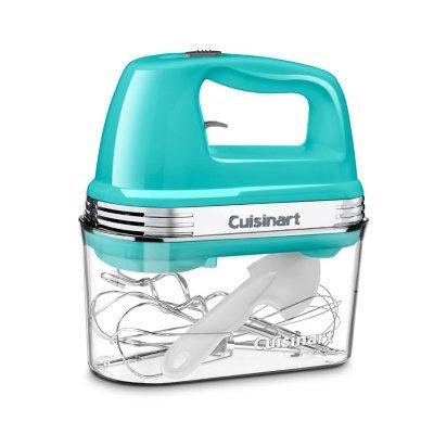 Cuisinart Power Advantage 5-Speed Hand Mixer with Storage Case - AQUA