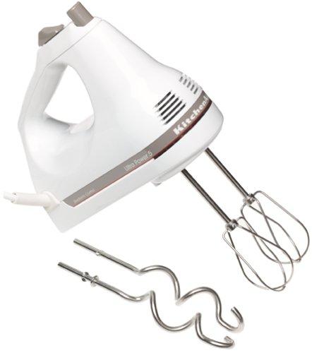 KitchenAid KHM5DH 5-Speed Ultra Power Hand Mixer White