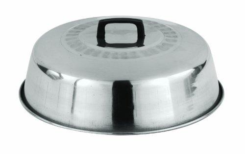 Paderno World Cuisine 11-78-Inch Aluminum Wok Lid