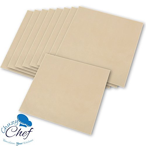 Food Dehydrator Sheets Set of 9 Premium 14 X 14 Non-stick Teflon For Excalibur 2500 3500 2900 or 3900 By Chuzy Chef
