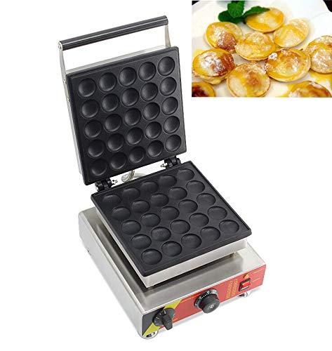Intbuying Nonstick Electric Round Mini Muffin Pancake Maker Machine Baker Iron Oven