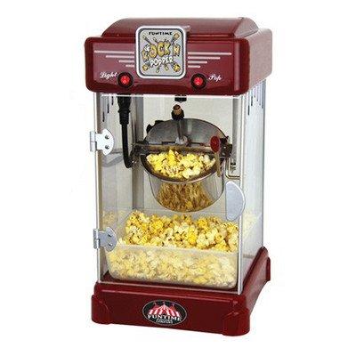 FunTime FT2518 25-Ounce Rockn Popper Hot Oil Popcorn Machine