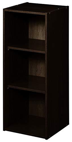 ClosetMaid 8985 Stackable 3-Shelf Organizer Espresso