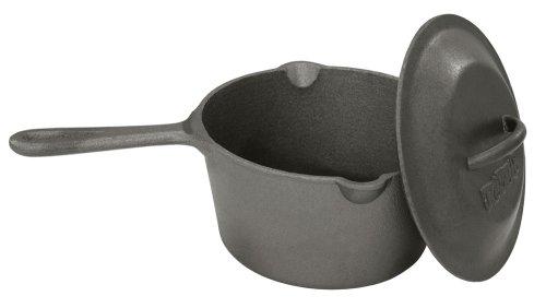 Bayou Classic 7448 25-Qt Cast Iron Bean Pot with Lid