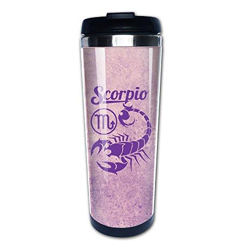 Funny Coffee Mug Zodiac-Scorpio Zodiac Sign Astrology Tea Travel Mugs