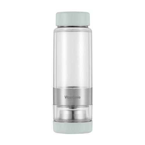 Vitantonio Twistea Tea Infuser Cup - Travel Mug Teapot Green VTW-10-G