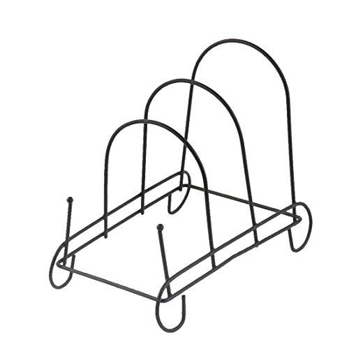 uxcell Metal Bowl Dish Plate Rack Drying Organizer Drainer Storage Holder Sink Cabinet Kitchen 182 x 97 x 155cm