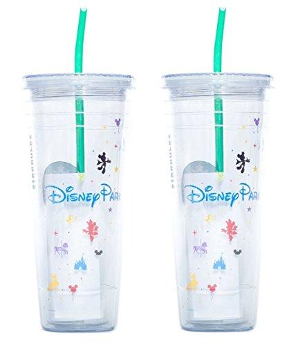 Starbucks Disney Parks Cold Cup Tumbler - Venti 24 Fl Oz by Starbucks - 2 Pack