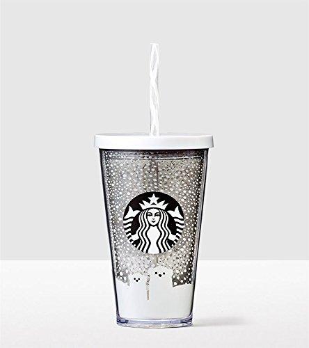 Starbucks Polar Bear Cold Cup Tumbler 16 Oz