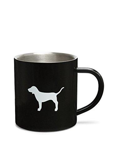 Victorias Secret PINK NEW Logo Coffee Metal Mug Black
