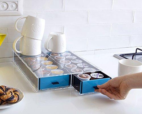Keurig Storage Drawer K-Cup Holder Coffee Pod Organizer Office Storage Drawer