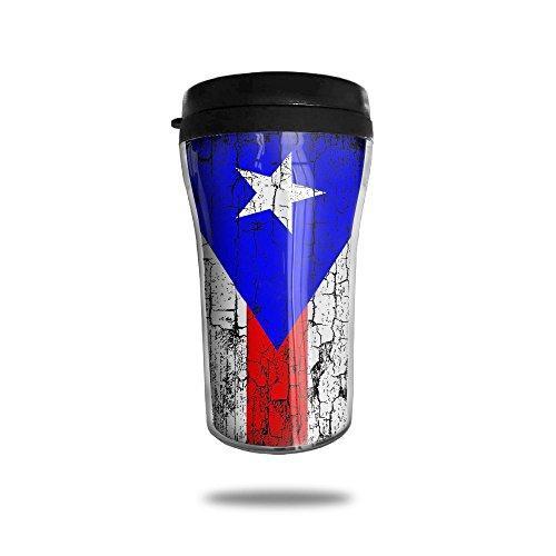 YDZJJY CUBA Flag Mini Travel Creative Stainless Steel Tea Coffee Mug Size 250ml