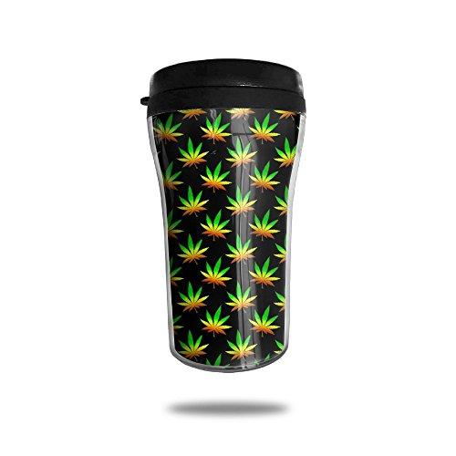 YDZJJY Marijuana Weed Mini Travel Creative Stainless Steel Tea Coffee Mug Size 250ml
