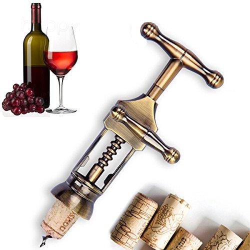 BangBang Zinc Alloy Red Wine Opener Classic Antique Metal Corkscrew Wine Opener