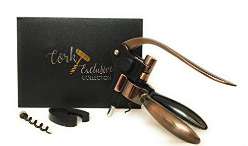 CEC Luxury Brass Rabbit Wine Opener Corkscrew With Extra Corkscrew