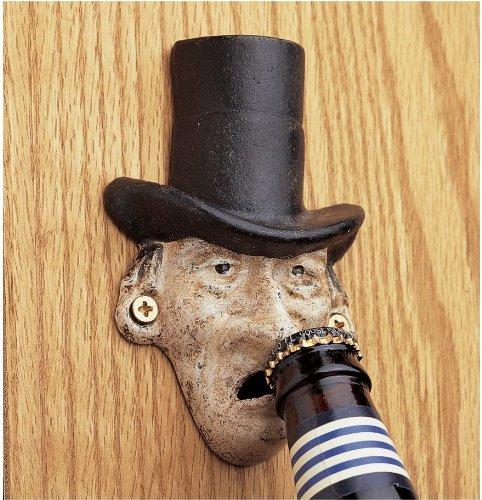British Antique Replica Ian Troon Beer Bottle Beverage Opener
