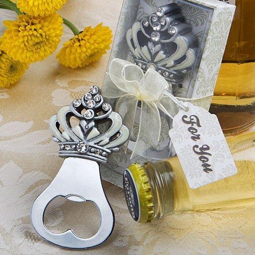 Crown design bottle opener favors Set of 72