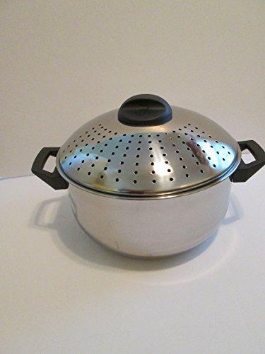 Parini 6 qt pasta pot stainless steel