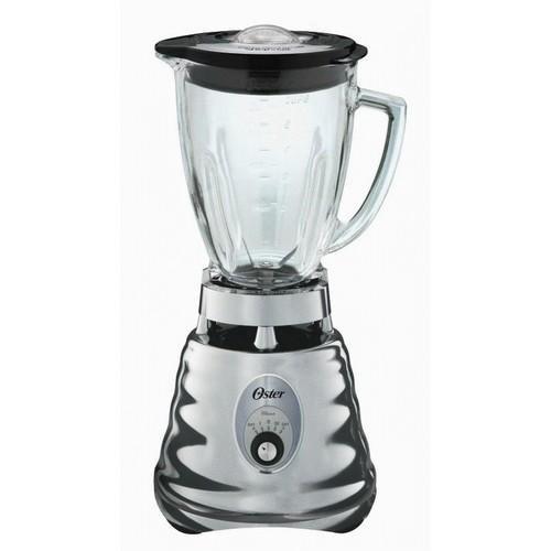 Oster 4655 blender Retro Chrome 3 speed 5 cup glass jar