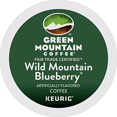 Green Mountain Coffee Roasters Wild Mountain Blueberry Keurig Single-Serve K-Cup Pods 72 Count 6 Boxes of 12 Pods