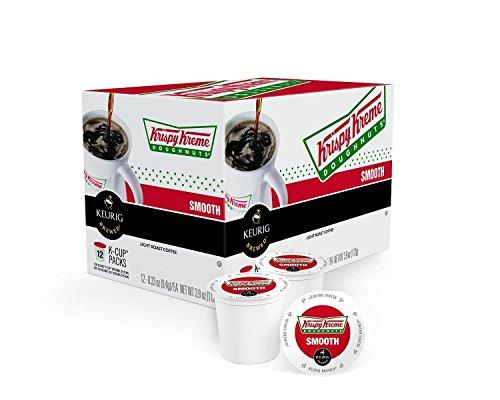 Krispy Kreme Smooth K-cups Green Mountain Coffee Roasters Gourmet Single Cup Coffee Box of 12 Pack of 2