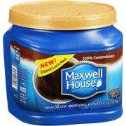 Maxwell House 100 Colombian Medium Dark Ground Coffee 28 ozPack of 4