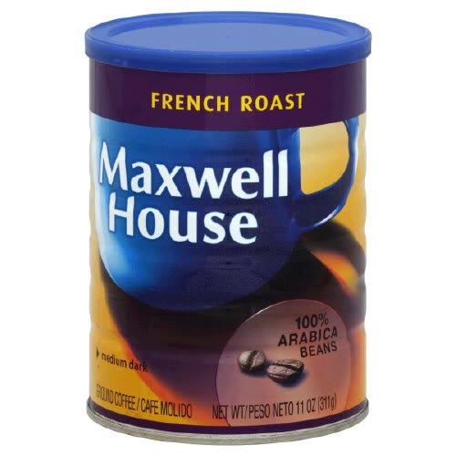 Maxwell House French Roast Medium Dark Ground Coffee 11 oz Pack of 6