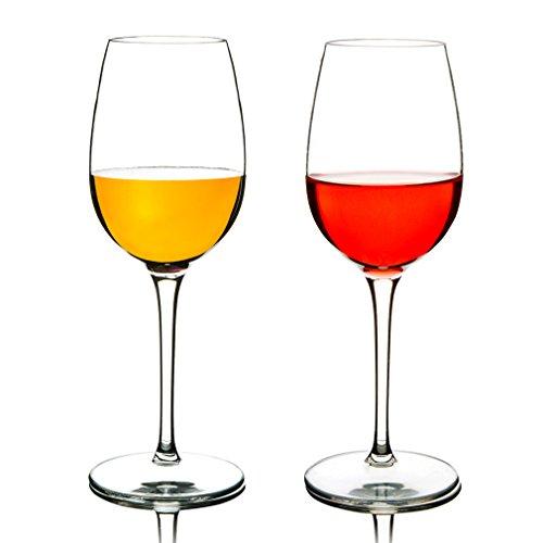MICHLEY Unbreakable Red Wine Glasses 100 Tritan Plastic Shatterproof Wine Goblets BPA-free Dishwasher-safe 125 oz Set of 2