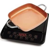 Copper Chef Pro Precision Induction Cooktop w Bonus 95 Casserole Fry Pan