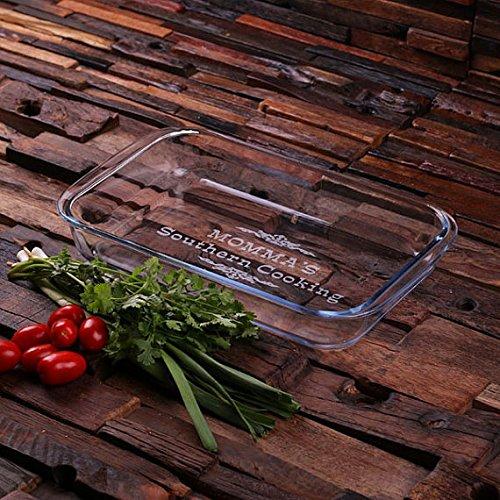 Personalized Casserole Baking Dish 2 Liter